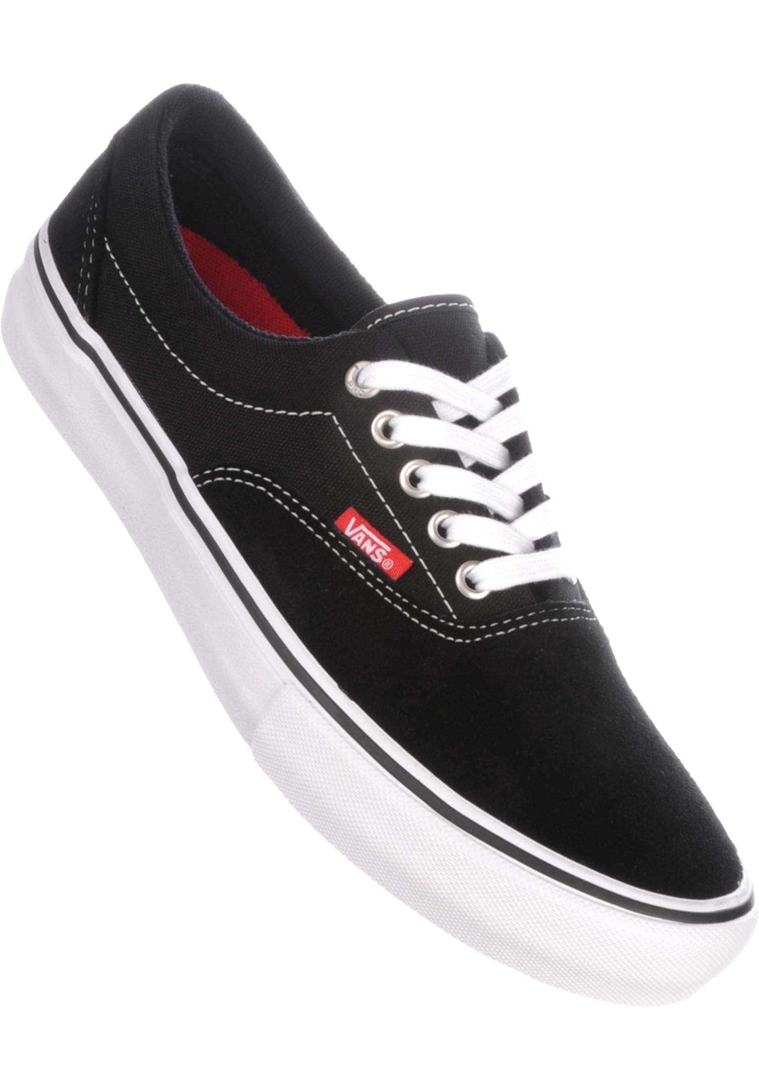 cf2aa94c9a Era Pro Vans All Shoes in black-white-gum for Men