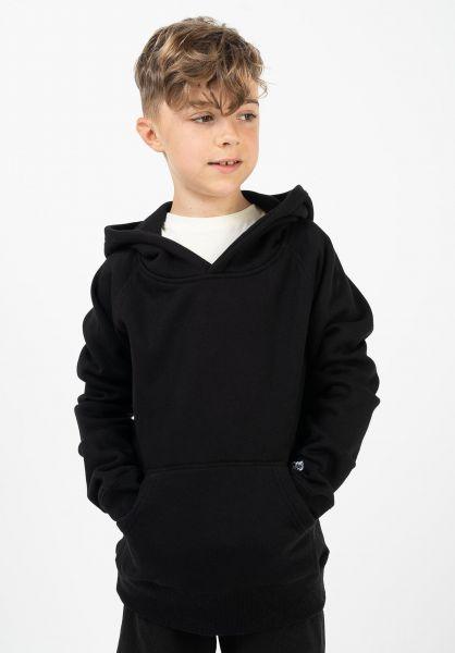 TITUS Hoodies Script Hoodie Kids black vorderansicht 0445845