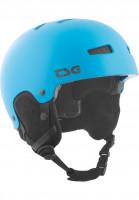 TSG Snowboardhelme Gravity Solid Color satin dark cyan Vorderansicht