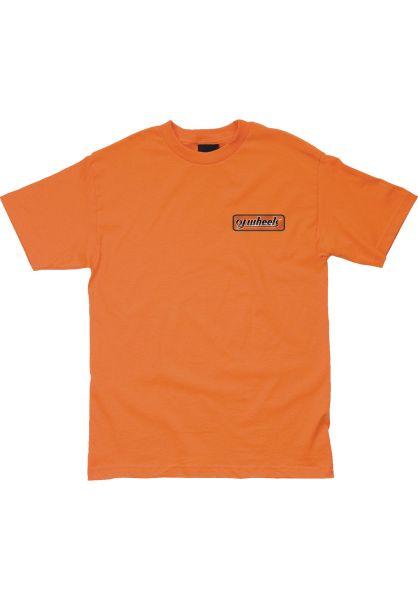 OJ Wheels T-Shirts OJ Two Tone S/S orange vorderansicht 0322018