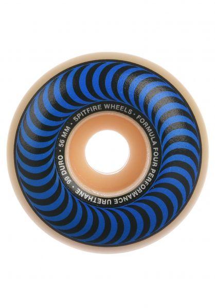 Spitfire Rollen Formula Four Classic 99A blue vorderansicht 0134509