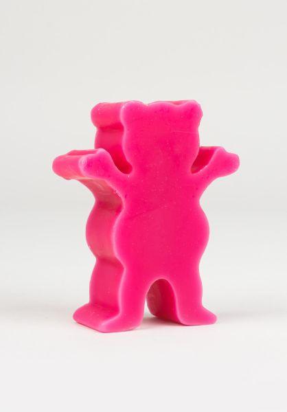 Grizzly Skate-Wachs Grease pink vorderansicht 0200017
