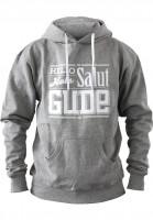 GUDE-Hoodies-Hello-Hola-Salut-GUDE-grey-Vorderansicht