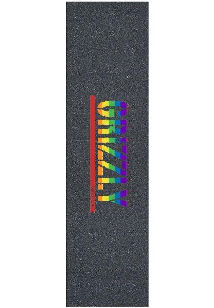 Grizzly Griptape Pride Stamp black vorderansicht 0142722