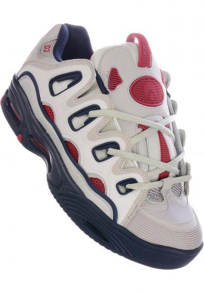 Osiris Alle Schuhe D3 2001 lightgrey-navy vorderansicht 0604118