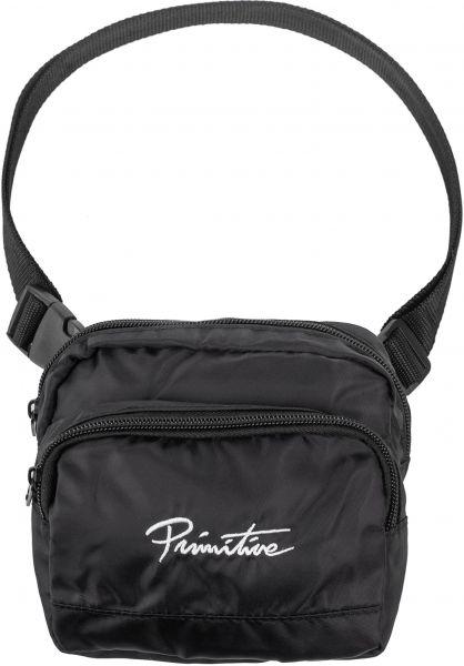 Primitive Skateboards Taschen Nuevo Shoulder Bag black vorderansicht 0891587