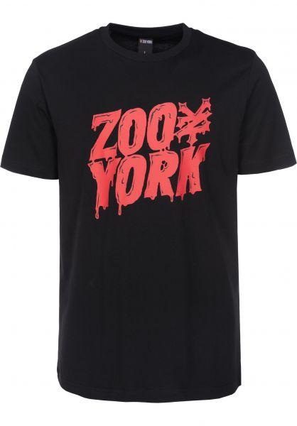 Zoo York T-Shirts Zoo Monster black Vorderansicht