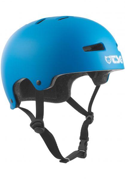 TSG Helme Evolution Kids Solid Color satin dark cyan Vorderansicht