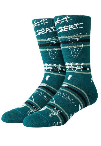 Stance Socken Get Beat green vorderansicht 0320473