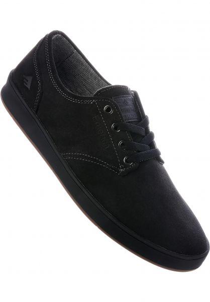 Herren Emerica Romero Laced Grau, Weiß & Gum Skate Schuhe