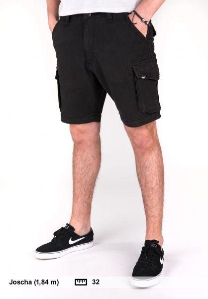 Reell Shorts City Cargo Short black Vorderansicht