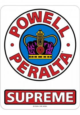 "Powell-Peralta Supreme OG 6"" Sticker"