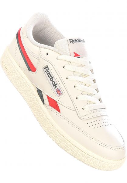 Reebok Alle Schuhe Club C Revenge chalk-vecred-trugr7 vorderansicht 0612551