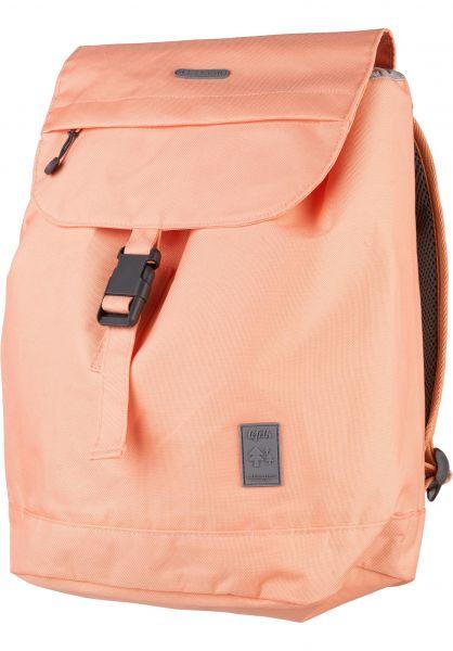 Lefrik Rucksäcke Flap Backpack Small peach vorderansicht 0880952