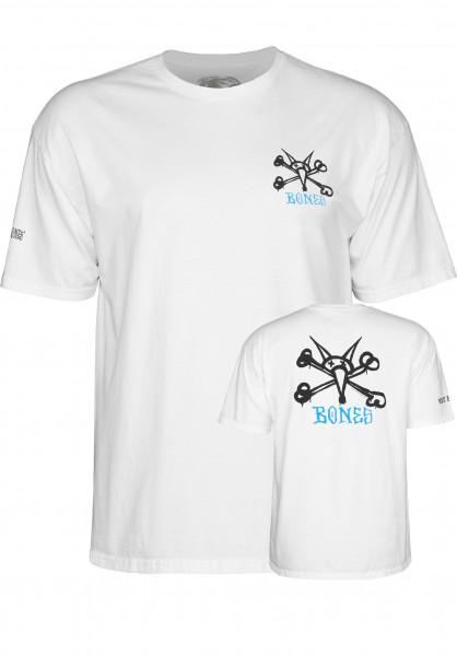 Powell-Peralta T-Shirts Rat Bones white Vorderansicht