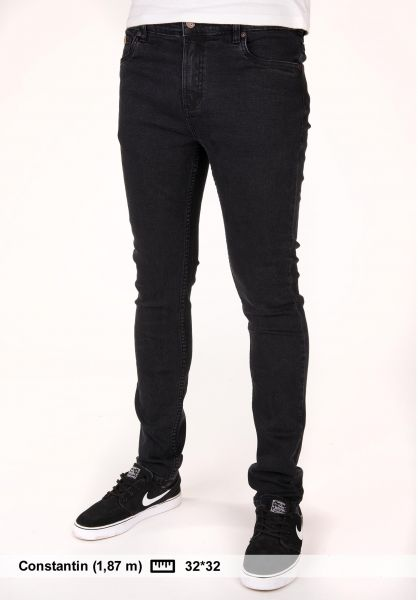 TITUS Jeans Skinny Fit black-vintage Vorderansicht