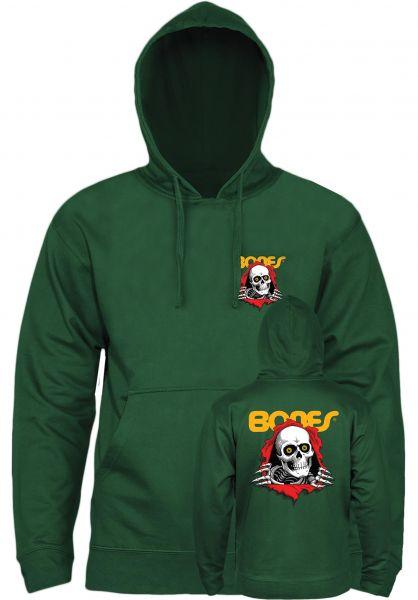 Powell-Peralta Hoodies Ripper alpine-green vorderansicht 0445457