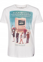 Dirty Velvet T-Shirts Netted vintagewhite Vorderansicht