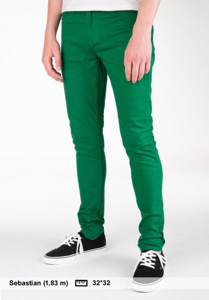 TITUS Jeans Skinny Fit kellygreen Vorderansicht
