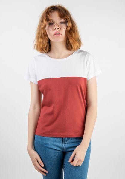 Forvert T-Shirts Emer white-red vorderansicht 0320104