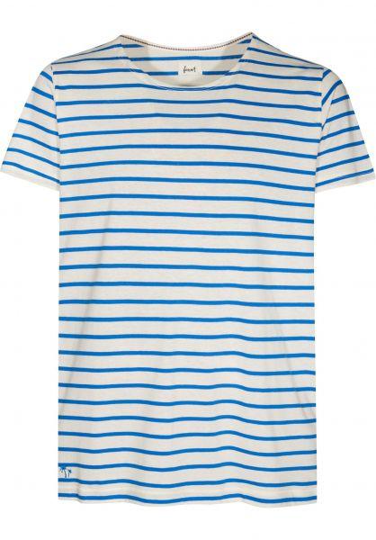 Forvert T-Shirts Tam beige-blue Vorderansicht