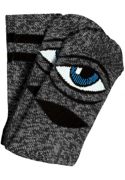 Toy-Machine Socken Sect-Eye-III heathergrey Vorderansicht