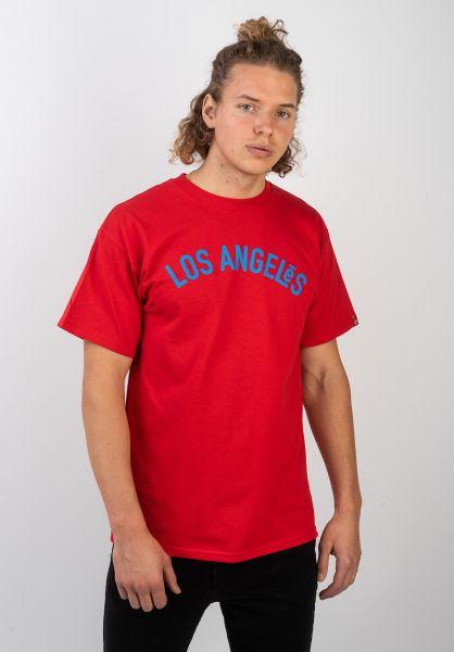 ES T-Shirts LA red vorderansicht 0320388