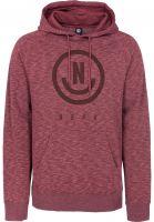 neff-hoodies-corpo-raglan-maroonheather-vorderansicht-0445149