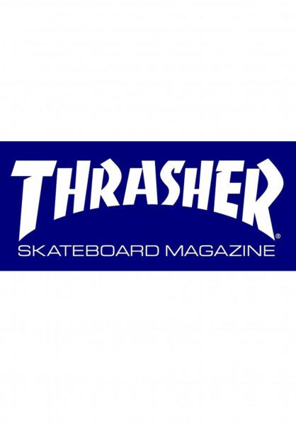Thrasher Verschiedenes Skate Mag Medium Sticker blue Vorderansicht