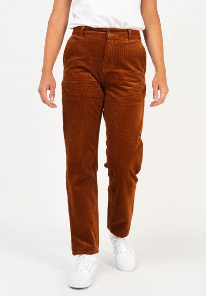 Carhartt WIP Jeans W´ Pierce Pant brandyrinsed vorderansicht 0269046