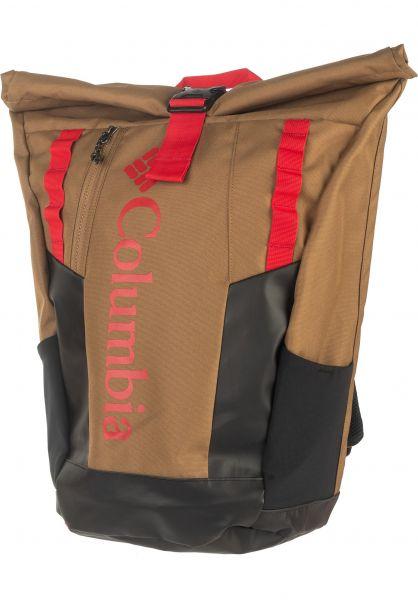 Columbia Rucksäcke Convey delta-mountainred vorderansicht 0880986
