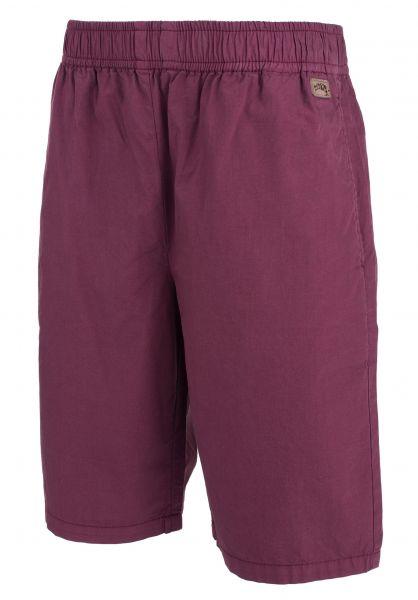 TITUS Shorts Bermuda Ric Kids darkburgundy Vorderansicht