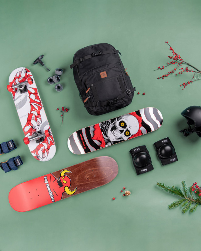 You will never forget your first skateboard! Make Christmas 2018 unforgettable and give the gift of skateboarding!