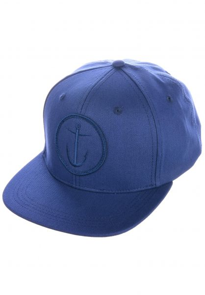Captain Fin Caps Original Anchor 6 Panel navy vorderansicht 0565432