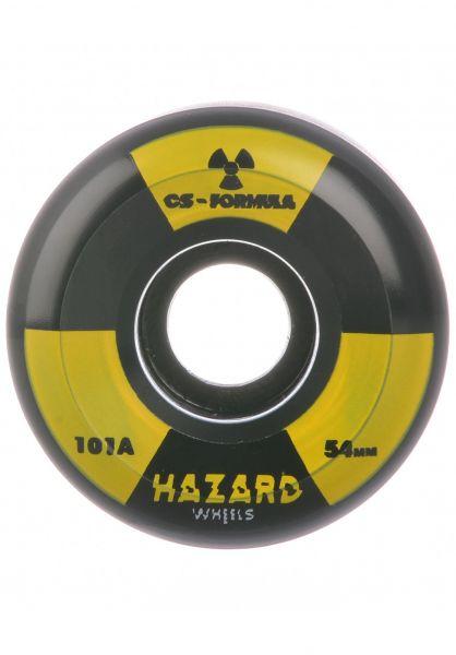 Hazard Wheels Rollen Radio Active Conical 101A black vorderansicht 0134988