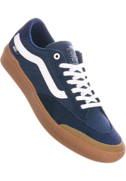 Vans Alle Schuhe Berle Pro dressblues-gum vorderansicht 0604561