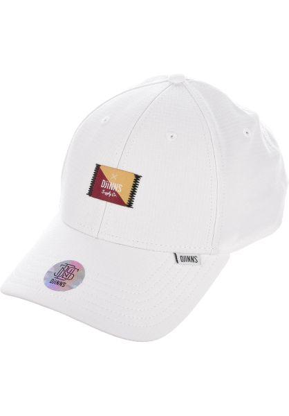 Djinns Caps TrueFit Cap 50:50 white vorderansicht 0566214