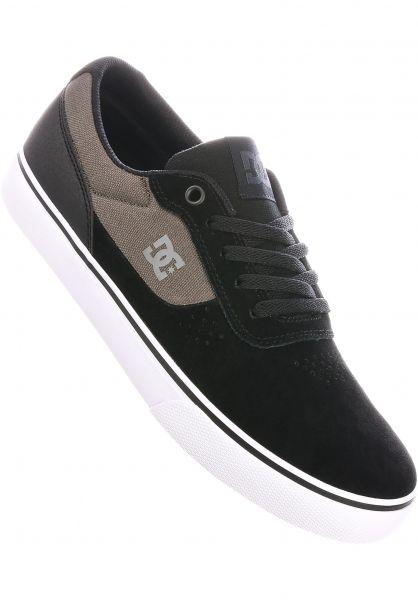 DC Shoes Alle Schuhe Switch S black-black-green vorderansicht 0604029