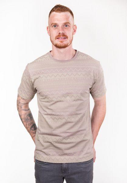 TITUS T-Shirts Ethno AO hazelnut vorderansicht 0397501