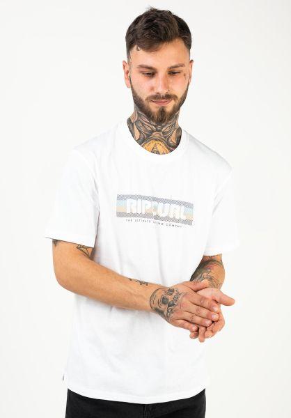Rip Curl T-Shirts El Mama white vorderansicht 0322295