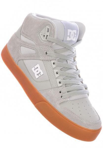 DC Shoes Alle Schuhe Pure High WC grey-gum vorderansicht 0604947