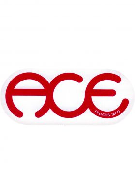 Ace Rings Logo Sticker 6""