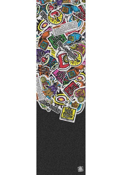 New-Deal Griptape Sticker Pile black vorderansicht 0142526