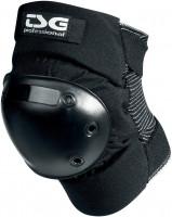 TSG-Knie-und-Schienbeinschoner-Professional-black-Vorderansicht