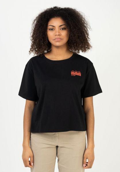 TITUS T-Shirts Yuna black vorderansicht 0321958