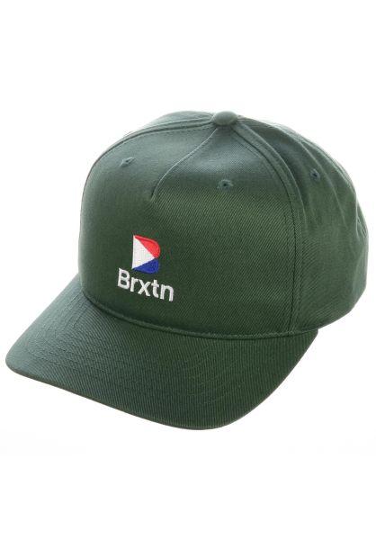 Brixton Caps Stowell II emerald vorderansicht 0566339