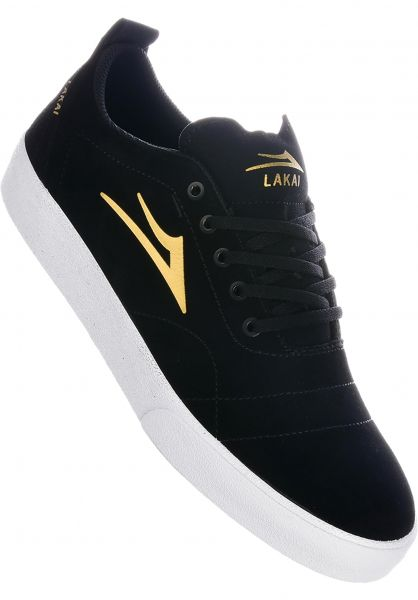 Lakai Alle Schuhe Bristol black-gold vorderansicht 0604404