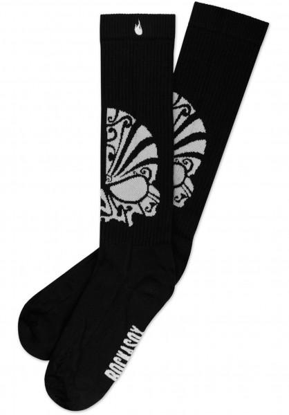 Rockasox Socken Me Ale Madres black-white Vorderansicht