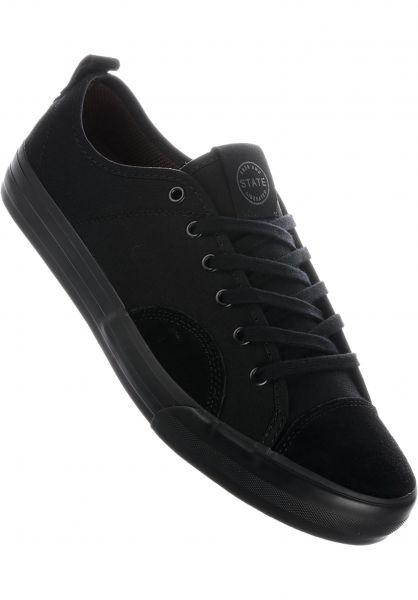 State Alle Schuhe Harlem black-black vorderansicht 0604527