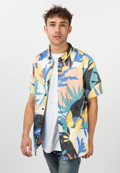 Quiksilver Hemden kurzarm Tropical Flow snowwhite-tropicalflo vorderansicht 0400967